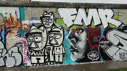 Mur de la honte de Berlin
