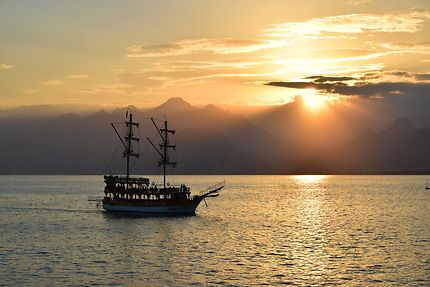 Fin de journée à Antalya