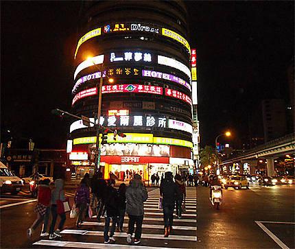 Taipei de nuit
