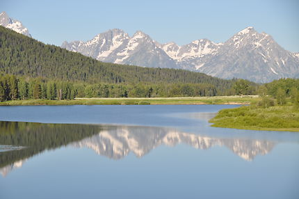 Parc national grand téton Wyoming