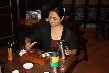 Cérémonie du thé Malacca, Malaisie