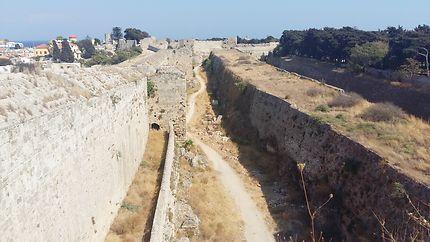 Les fortifications médiévales de Rhodes
