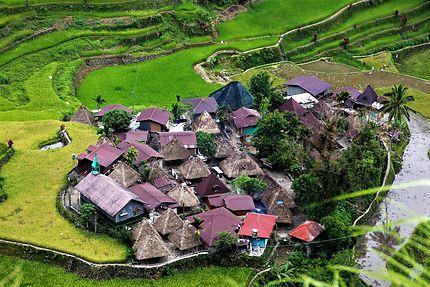 Les villages traditionnels de la province d'Ifugao
