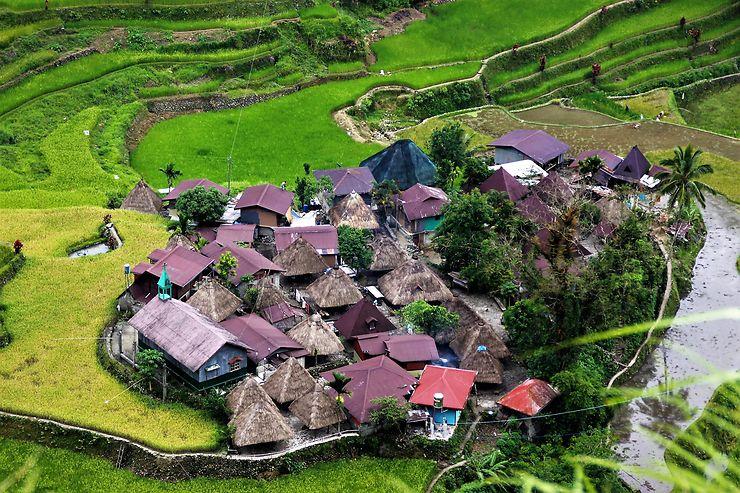 Les villages traditionnels de la province d'Ifugao, Philippines