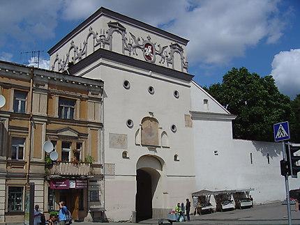 Vilnius : porte de l'Aurore