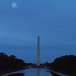 Vue depuis le Lincoln Memorial