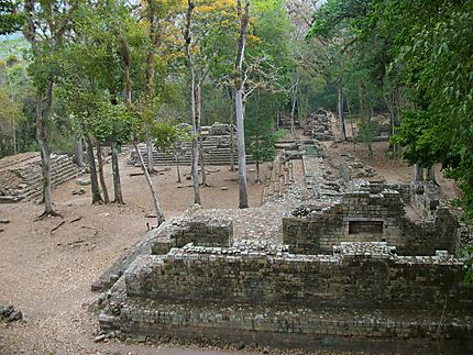 Site de Copan : les ruines