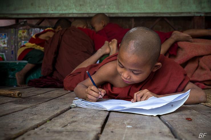 Cool school !, Birmanie, par poupette1957