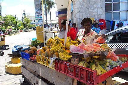 La marchande de fruits