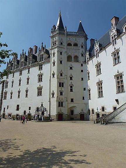 Le Grand Logis et la tour de la Couronne d'or