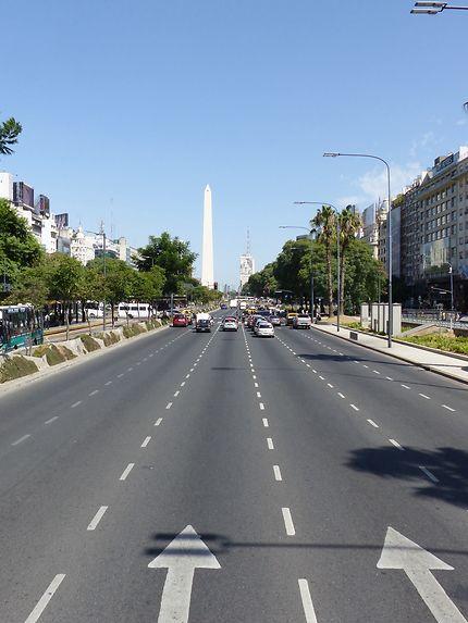 Belle perspective à Buenos Aires