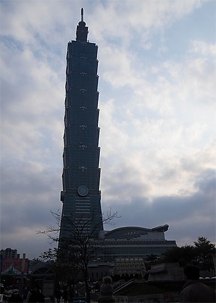 La Tour 101, un grand Bambou