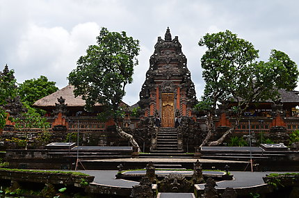 Entrée du Temple Saraswati
