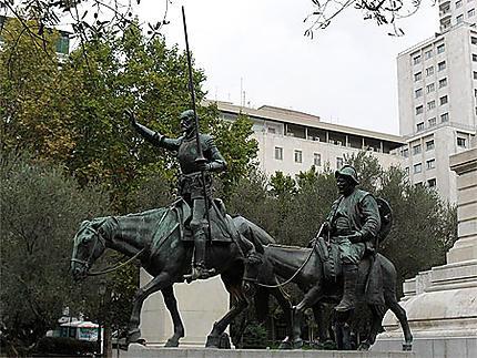 Don Quichotte & Sancho Pansa