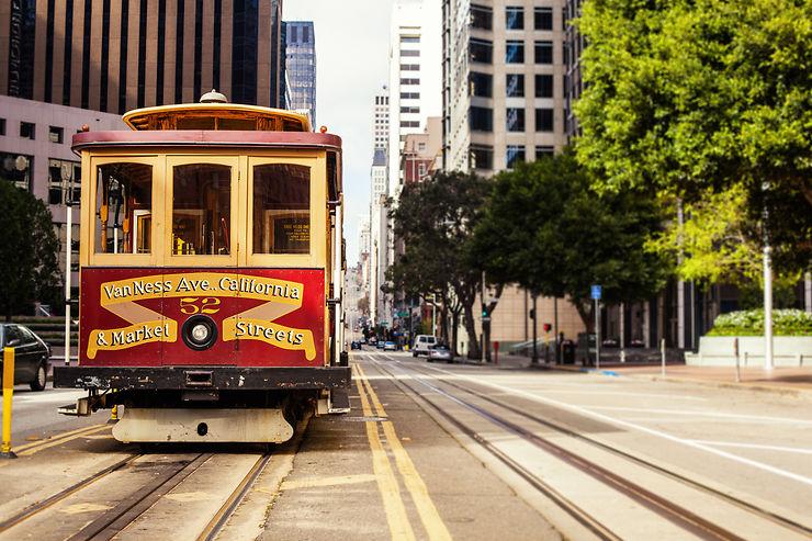 Cable car - San Francisco, États-Unis