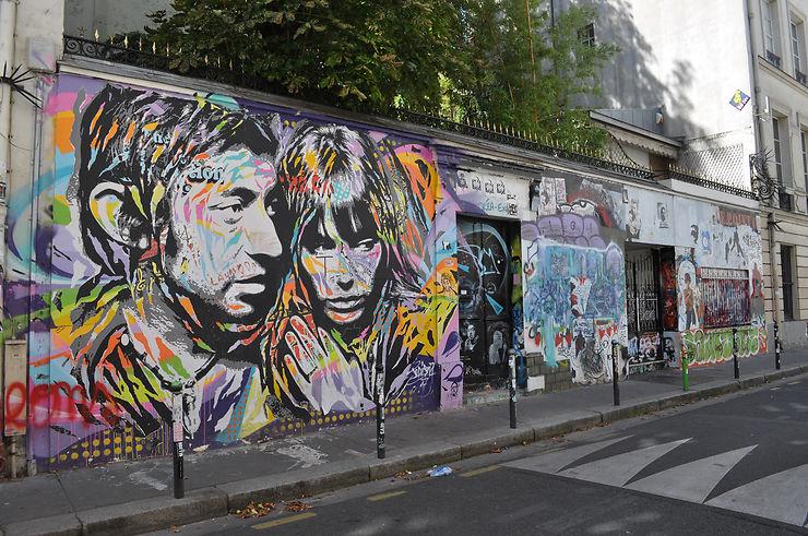 Parcours Gainsbourg dans Paris