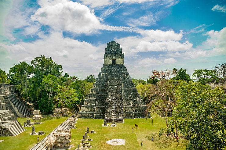 Yavin IV, chez les Mayas