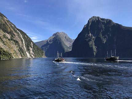 Milford Sound sous ses plus belles facettes