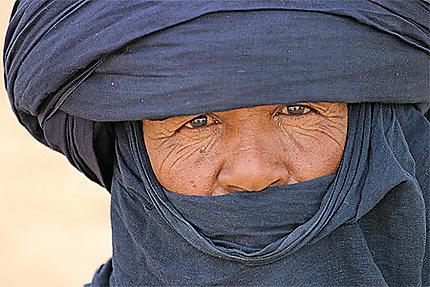 Portrait de touareg