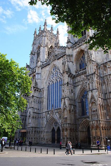 Façade de la cathedrale de York