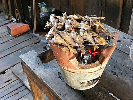 Poissons grillés au BBQ