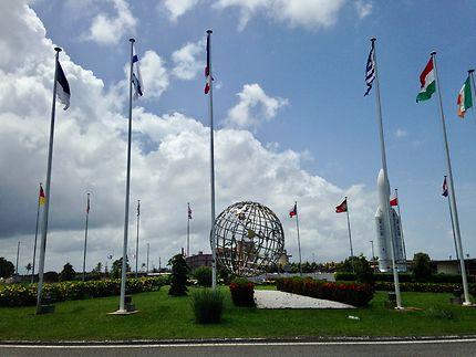 Centre de l'aérospatial à Kourou
