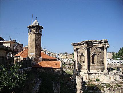 Temple de Vénus et petite mosquée