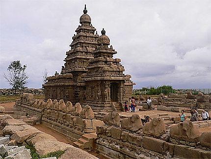 Le temple du rivage à Mamallapuram