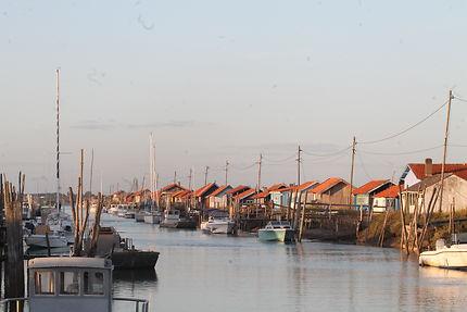 Cabanes de pêcheurs à La Tremblade