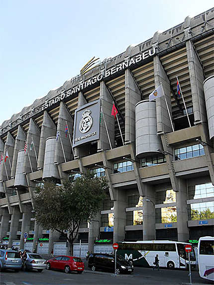 Estadio Santiago Bernabéu : tribune présidentielle