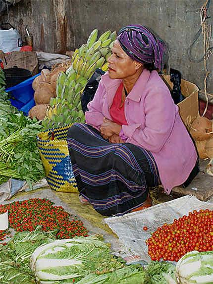 Au marché de Bajawa