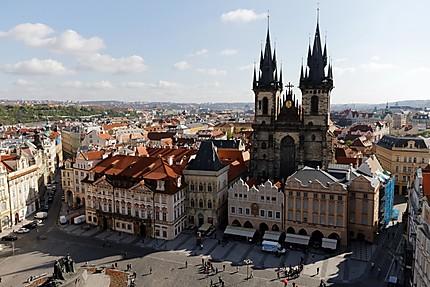 Du haut de l'Hôtel de Ville