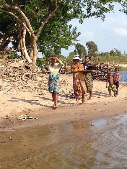 Canal des pangalanes à Nosy Varika, Madagascar