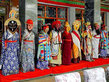 Théâtre tibétain à Lhassa