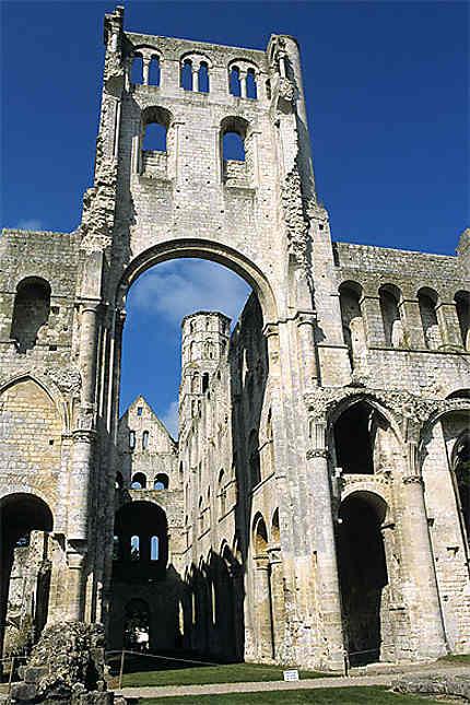 Eglise Notre-Dame, abbaye de Jumièges