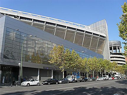 Estadio Santiago Bernabéu : vue arrière