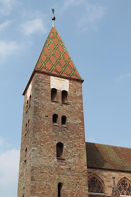 La tour-clocher occidentale