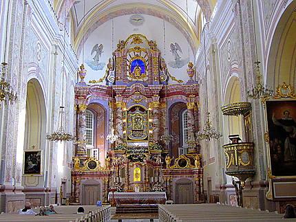L'intérieur de la Basilique d'Aglona