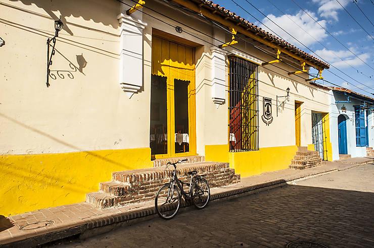 Maison colorée à Trinidad, Cuba
