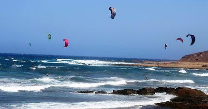 Kite surf en El Médano (Tenerife sur)