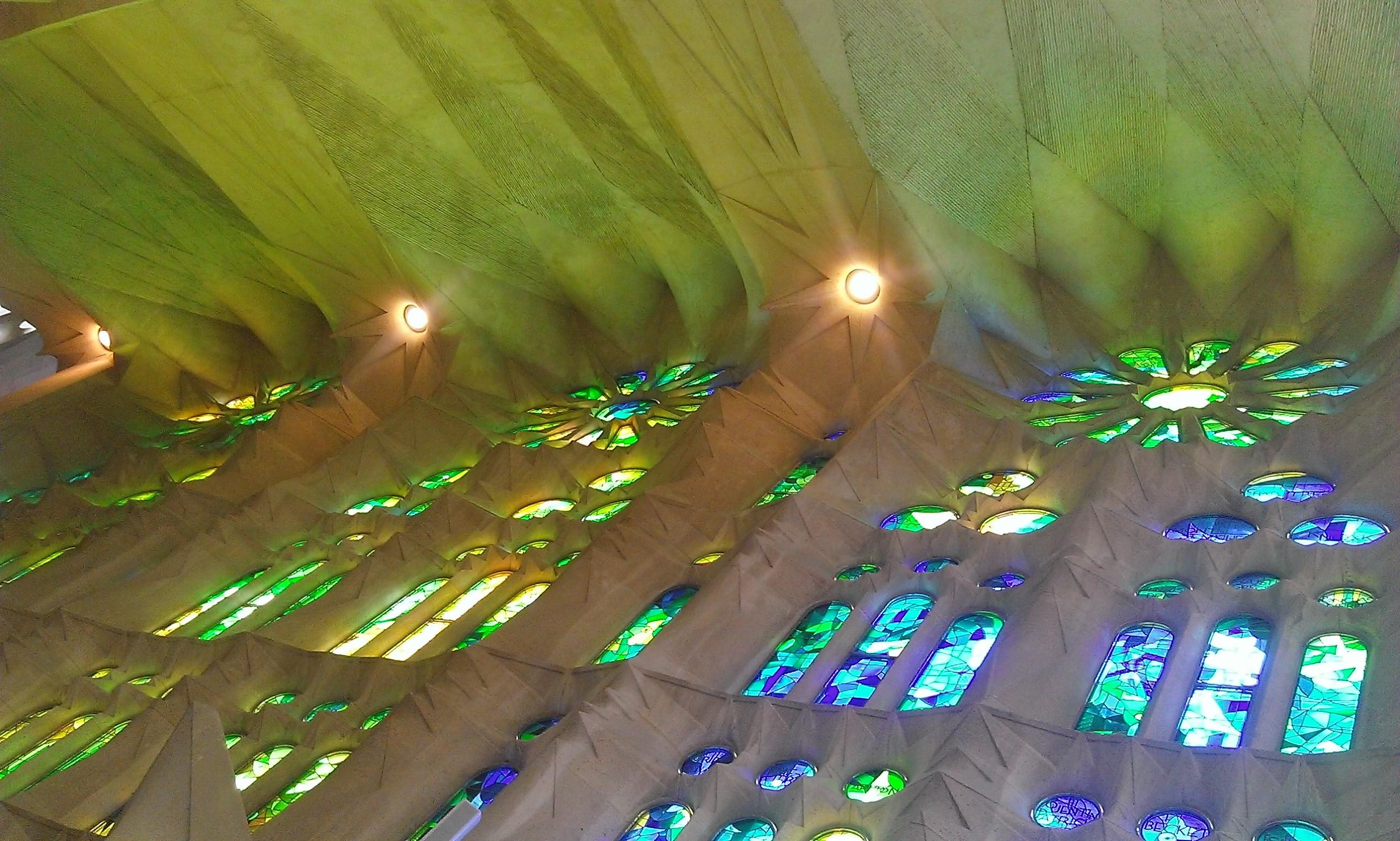 Vitraux de la Sagrada Família