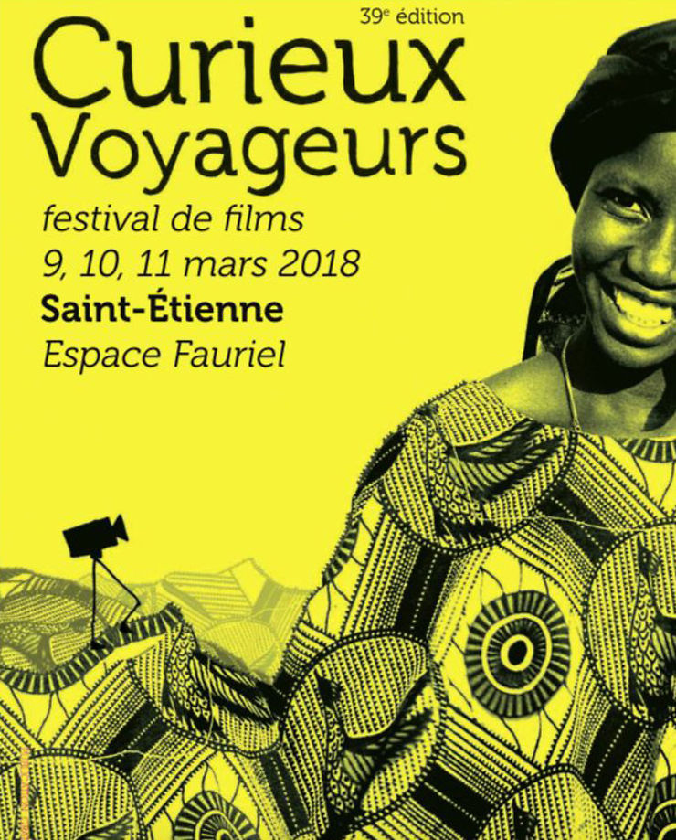 Festival Curieux Voyageurs à Saint-Étienne