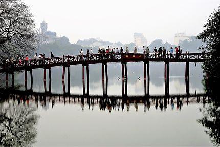Hanoi, lac Hoan Kiem