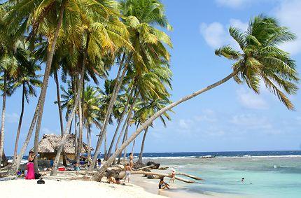 Aguja, île des San Blas au Panama