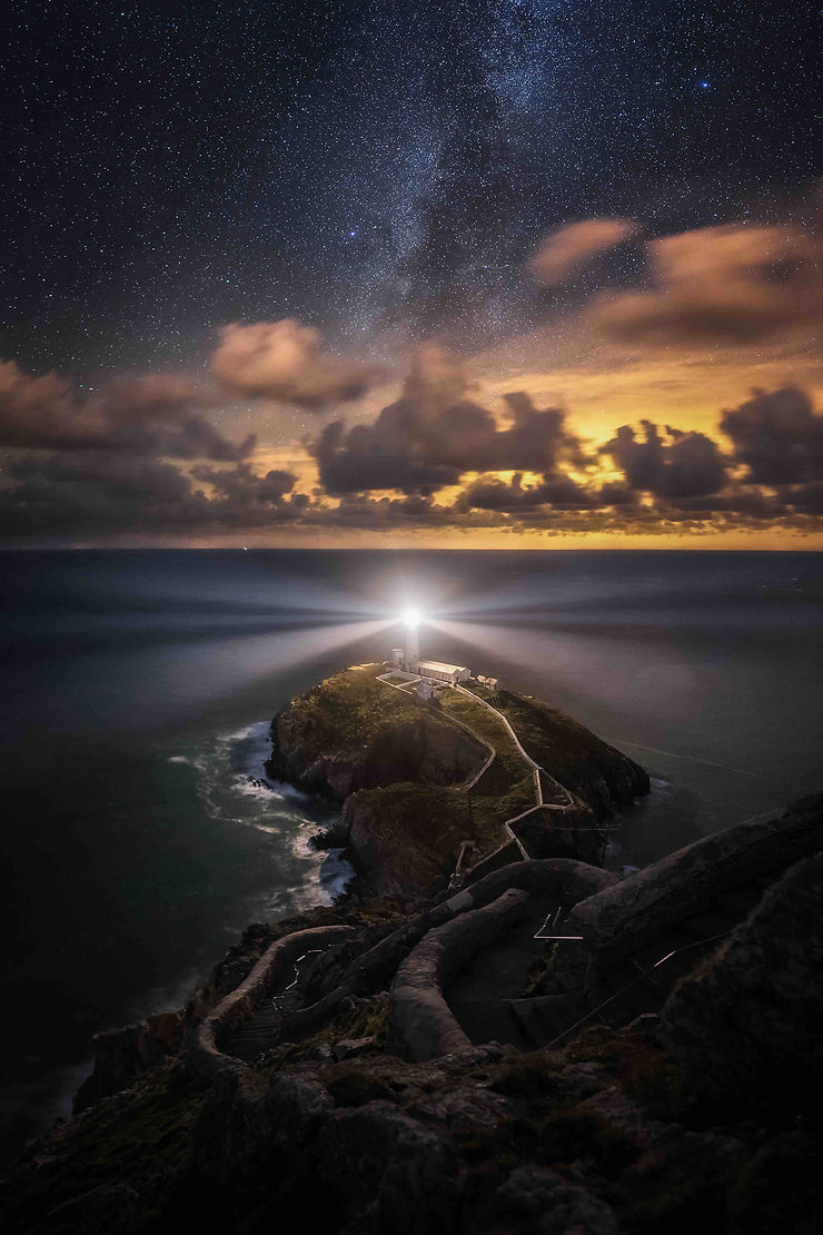 Phare de South Stack, Anglesey, Pays de Galles