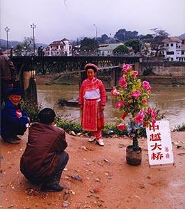 Hekou, ville-frontière sur la rive chinoise du Fleuve Rouge