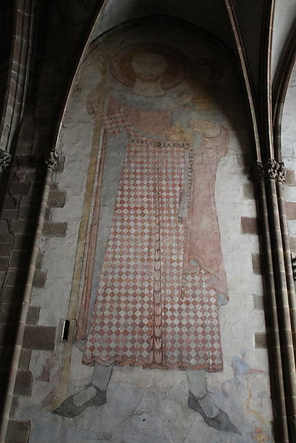 Fresque de Saint-Christophe