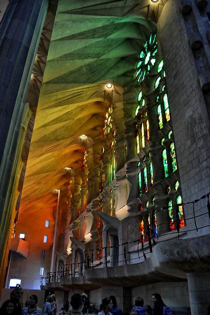 Color ......Sagrada Familia