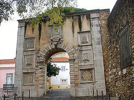 Chateau Sao Jorge-entrée
