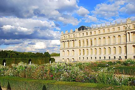 Nuages sur Versailles